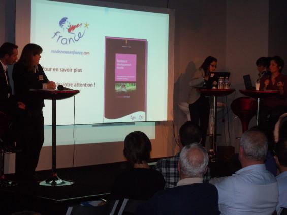 Corinne Lespinasse Taraba présente Atout France
