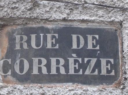 Brive. Rue de Corrèze