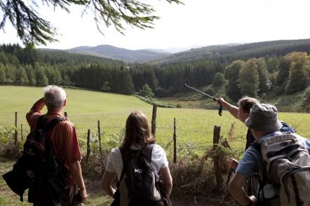 randonnée retrouvance plateau de millevaches septembre 2011