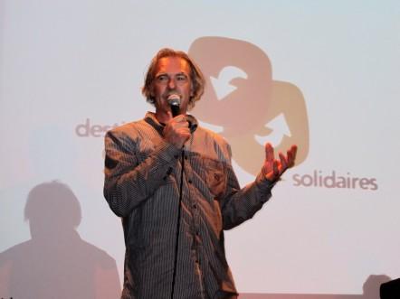 Jean Luc Gantheil lors de la journée SAHEL (ATES)