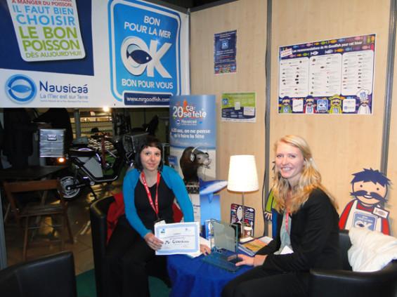 remise du Laurier Ecorismo-FTC de l'innovation en solution de développement durable 2012. Le