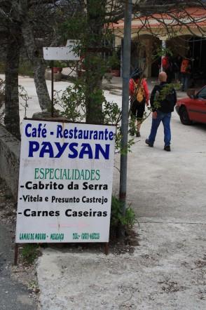 Restaurant paysan à Lamas de Mouro