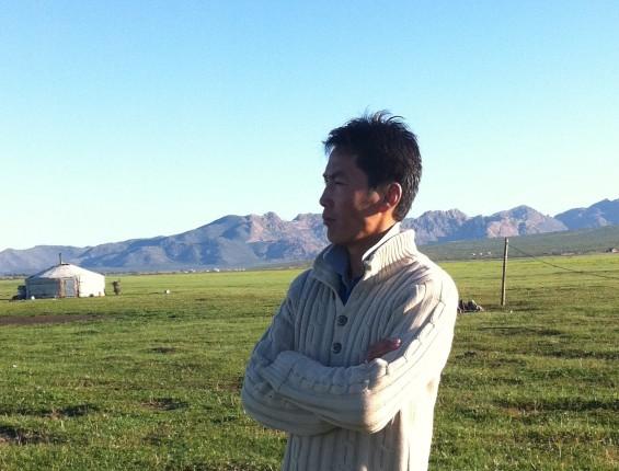 Munkhe, fondateur de Nomad Planet