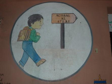 Sur la route de l'Atlas