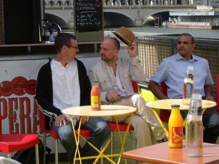 Benoit et Laurent on Petit Bain