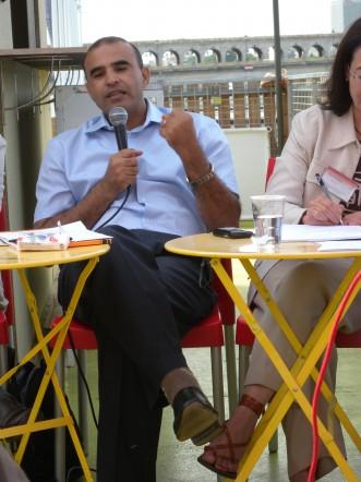 Abderrazak Elhajri au Petit Bain