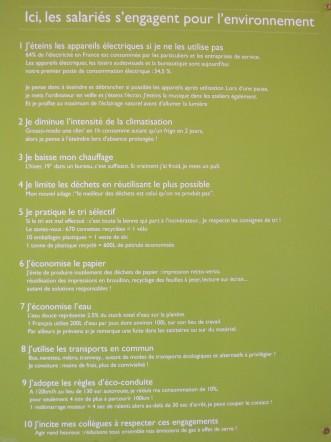 Valeur environnement de l'Occitane en Provence