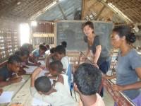 Volontaire en mission en Afrique
