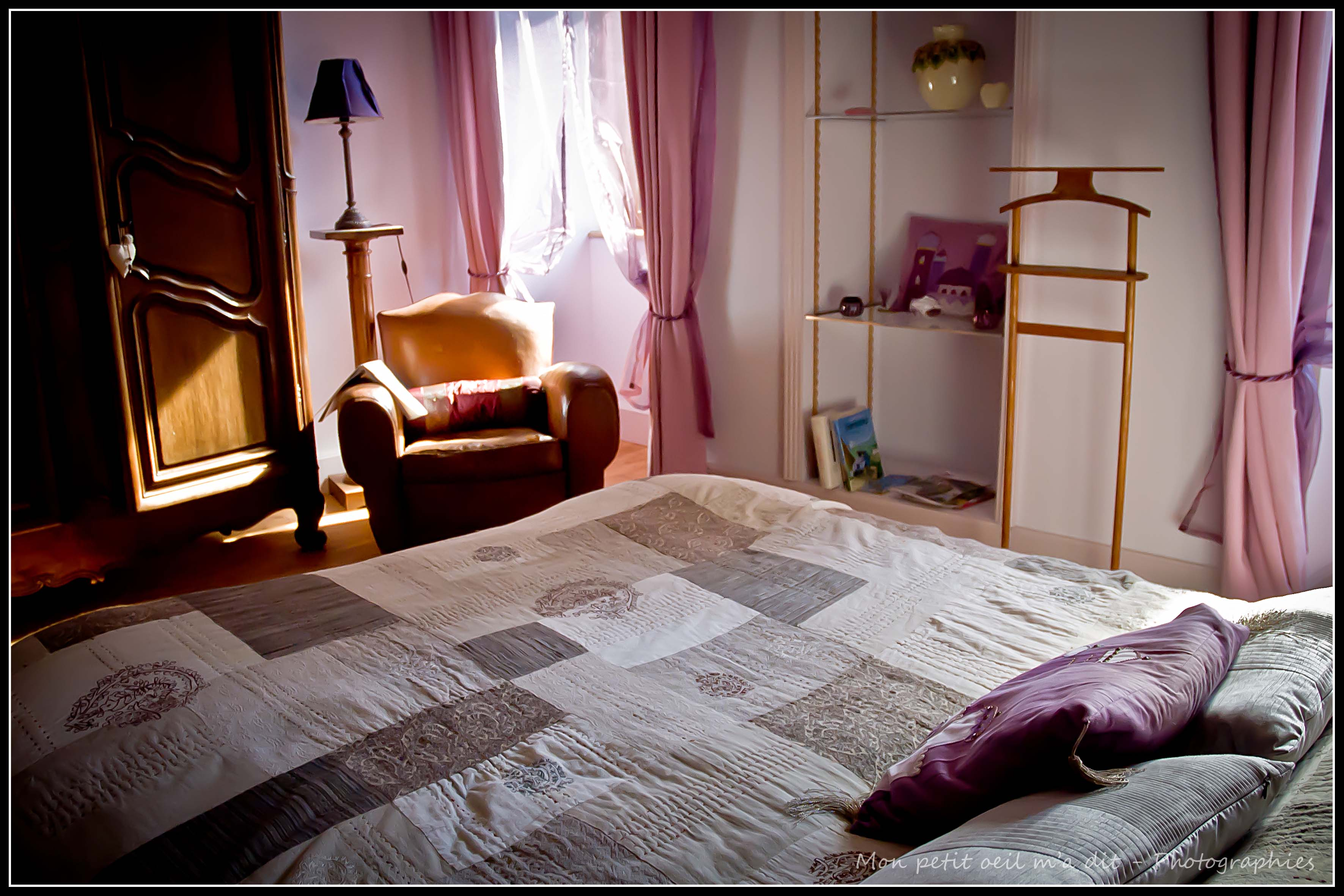 """Chambre d'hôte """"Améthyste"""" © monpetitoeilmadit"""