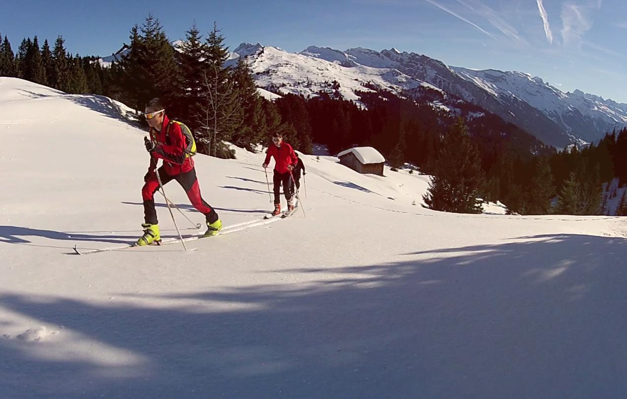 Ski de Randonnee EDF VTT Les Gets