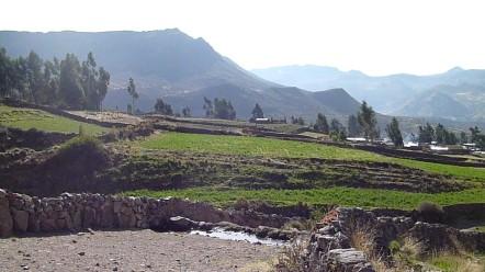 La vallée de Coporaque