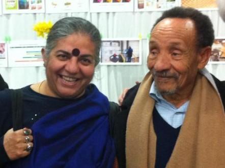 Vandana Shiva et Pierre Rabhi