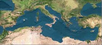 le pourtour mediterranéen