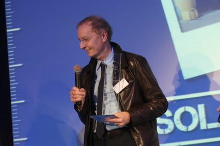 Le fondateur du Solar Hôtel Franck Laval reçoit le Trophée du Tourisme Responsable 2010 catégorie Hébergement, petite structure