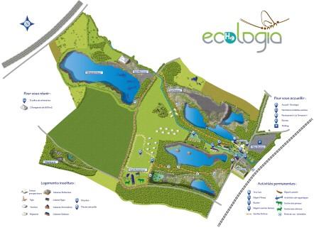 Un site de 70 ha où l'eau est omniprésente... © EcHOlogia