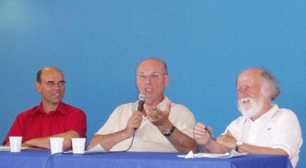 Eric Raulet réunit H Reeves et B Cyrulnik pour la première fois en 2005 @ER