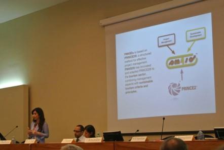 Silvia Barbone, directrice de la fondation FEST
