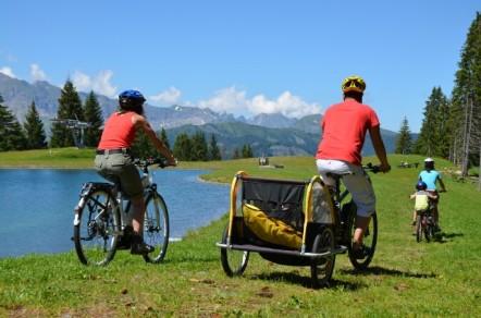 Le vélo en famille à la montagne... c'est possible !