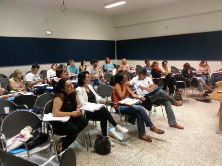 participants training