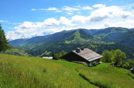 Panorama du Val d'Arly ©OTValdArly