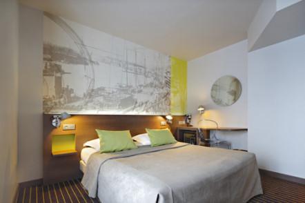 Chambre hotel amiral Nnates