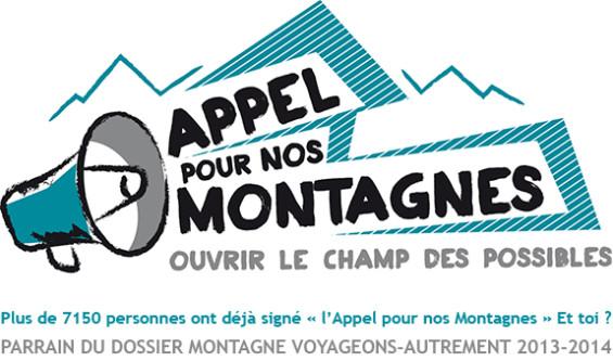 Cliquez sur l'image pour signer L'Appel pour nos Montagnes
