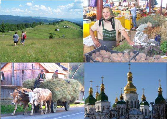 Voyages en europe de l'est avec la Roumanie et l'Ukraine