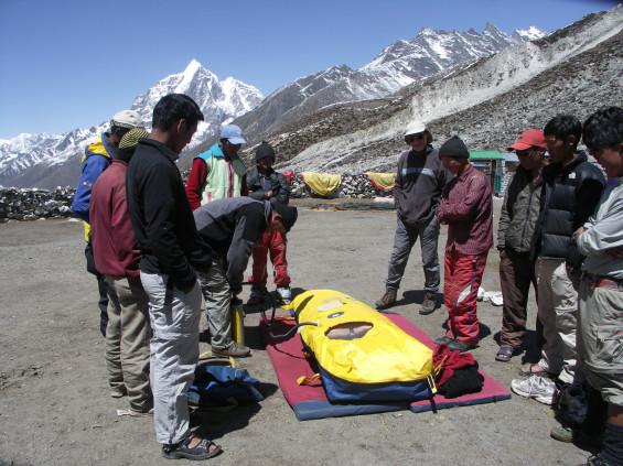 Guides locaux au Népal © Allibert Trekking
