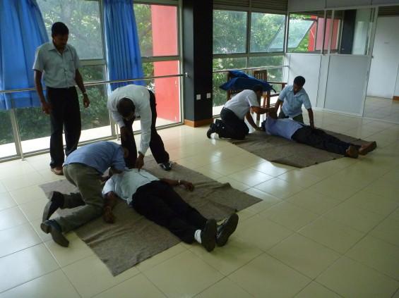 Formation aux premiers secours au Sri Lanka © Allibert Trekking