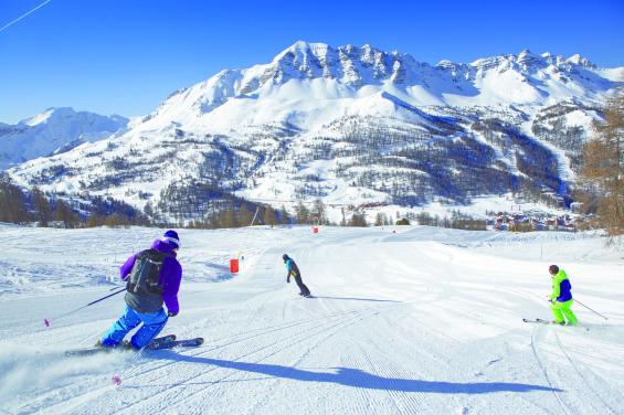 ©Pierre Augier - Vars la Forêt Blanche à ski