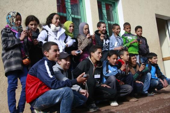 Les jeunes élèves du pensionnat de Tabant