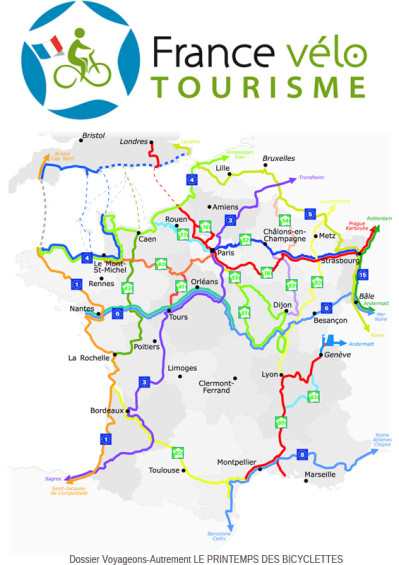 France Vélo Tourisme Parrain du dossier Vélotourisme 2014