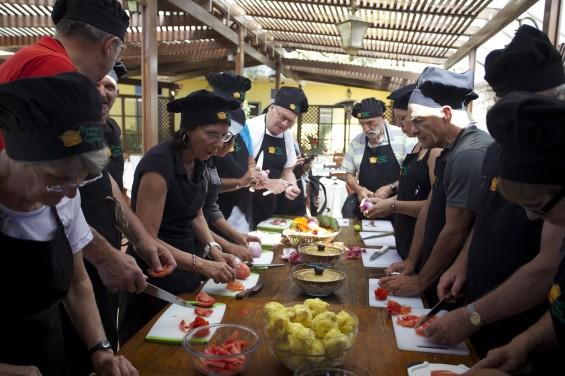 Cours de cuisine à Arequipa, Causa et Lomo saltado © Viventura