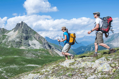 itineraire grande traversée des alpes