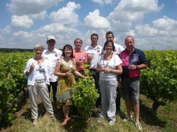 L'équipe dynamique des viticulteurs AOC Touraine-Chenonceaux