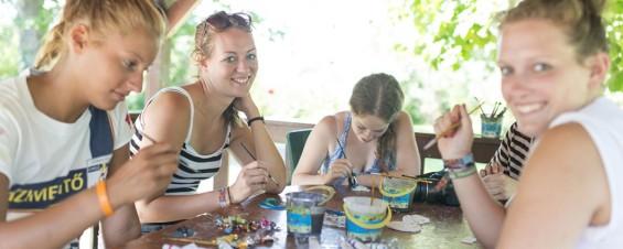 Tourisme social en Hongrie et atelier de peinture