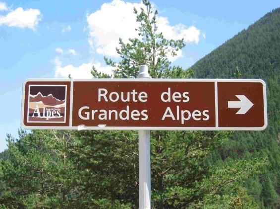 Route Alpes