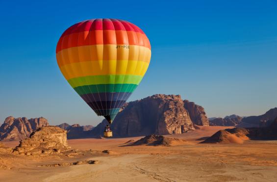 montgolfiere wadi rum