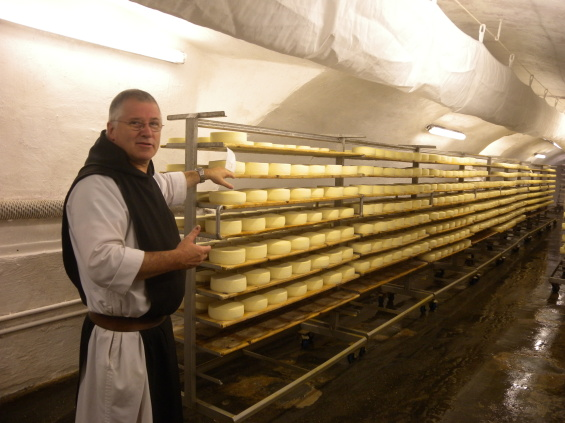 Tamié et les fromages