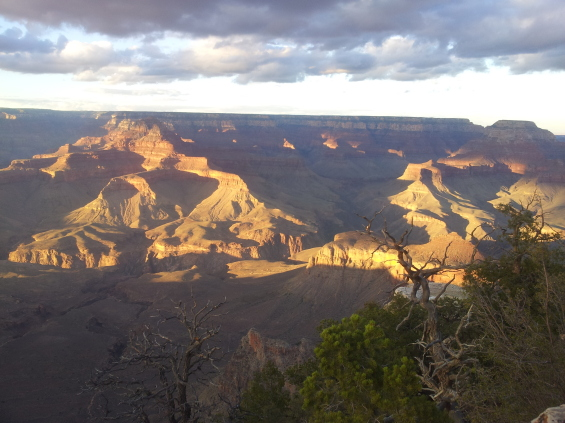 Sunset sur la Grand Canyon