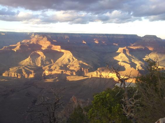 Sunset sur la Grand Canyon