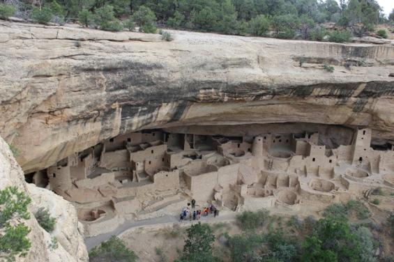 Ancien village Anasazi dans le parc de Mesa Verde
