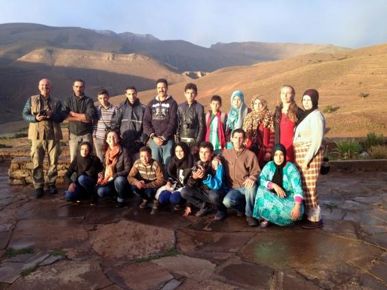 L'équipe des rencontres photographiques berbères 2014