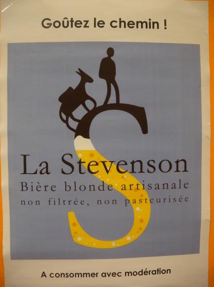Affiche bière Stevenson