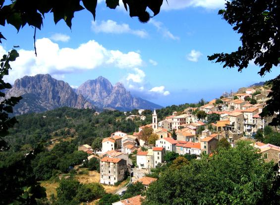 Evisa - Crédit photo La CorseBox