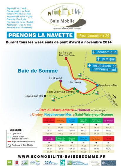 parcours baie mobile 2014