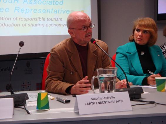 Maurizio Davolio, président de EARTH et président des membres associés de NECSTouR
