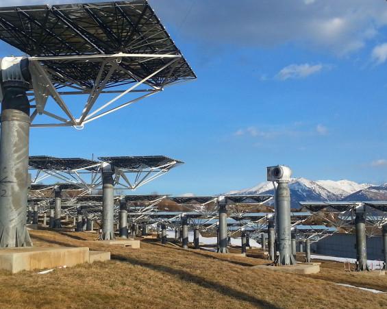 Parc photovoltaïque / Cluster Cerdagne
