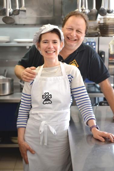 Nathalie et Arnaud BEAUVAIS du restaurant 'le Jardin Gourmand'