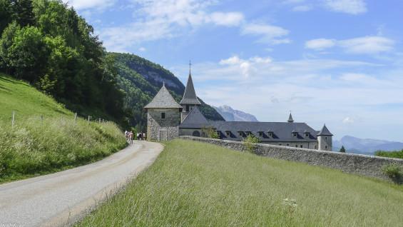 l'abbaye de Tamié dans le PNR des Bauges